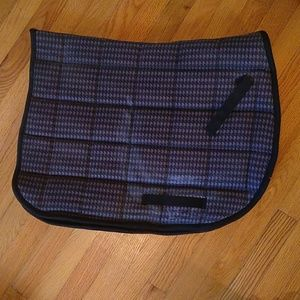 Lettia Houndstooth Saddle Pad